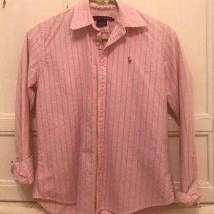 Light pink Ralph Lauren polo